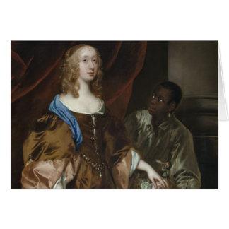 Madame Elizabeth Murray et employé Carte