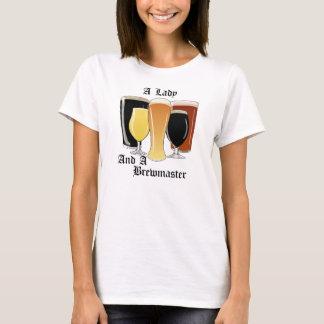 Madame et un T-shirt de Brewmaster