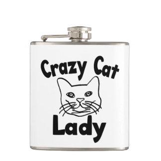 Madame folle de chat flasques