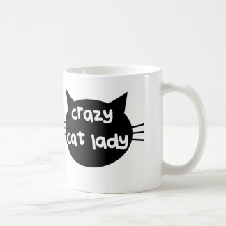 Madame folle Mug de chat