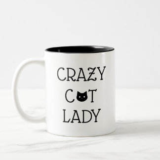 """Madame folle"" tasse de chat"