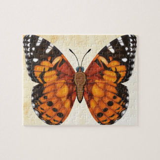 Madame peinte Butterfly Puzzle