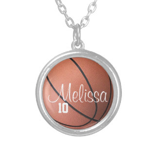 Madame personnalisée Basketball Necklace Bijouterie