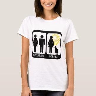 Madame Problem de chat résolu T-shirt
