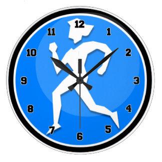 Madame Runner Grande Horloge Ronde