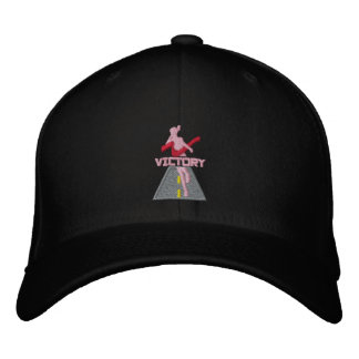 Madame Victory Runner Embroidered Hat Casquette De Baseball
