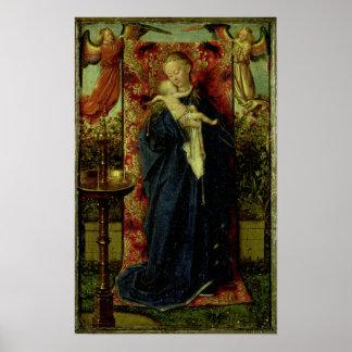 Madonna bij de Fontein, 1439 Posters