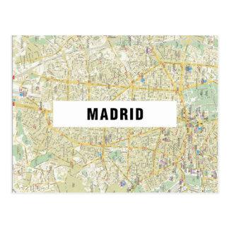 ♥ Madrid de CARTES POSTALES de CARTE