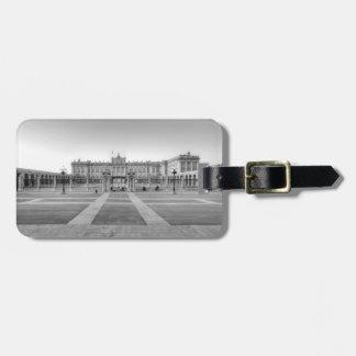 Madrid Royal Palace Étiquette À Bagage