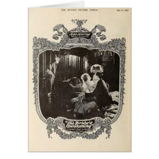 Mae Murray 1918 cinémas muets vintages de scène Carte