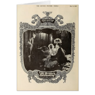 Mae Murray 1918 cinémas muets vintages de scène Carte De Vœux