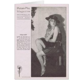 Mae Murray 1921 portraits vintages Carte De Vœux