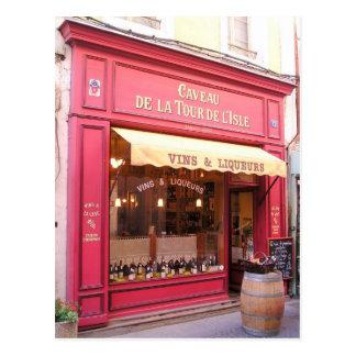 Magasin de vin de la Provence Carte Postale