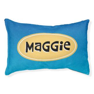 Maggie a personnalisé lit pour chien