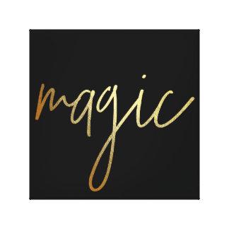 Magie…. Art de toile