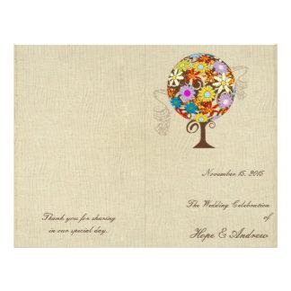 Magische BosCirkel van het Huwelijk van de Boom Flyer 21,6 X 27,9 Cm