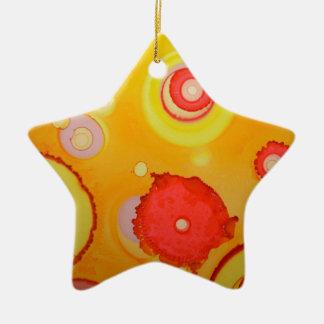 magma ornement étoile en céramique
