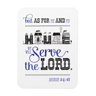 Magnet Bible fraîche Joshua le 24:15