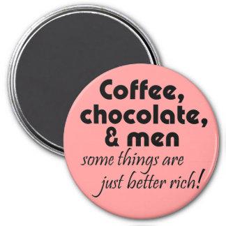 Magnet de coffeee de plaisanterie de cadeaux de la