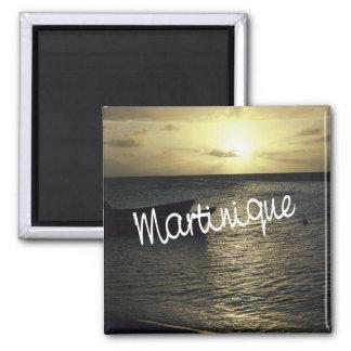 Magnet de réfrigérateur de souvenir de photo de vo magnet carré