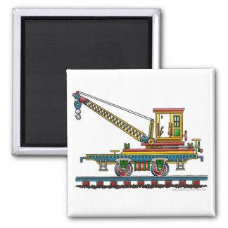 Magnet de voiture d'entretien de voiture de grue d magnet carré
