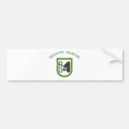 magnet du comté de l'Italie de drapeau de région d Adhésifs Pour Voiture