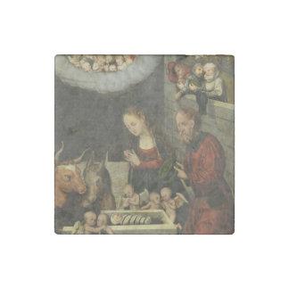 Magnet En Pierre Bergers adorant le bébé Jésus par Cranach