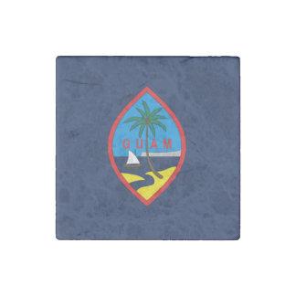Magnet En Pierre Conception de drapeau de la GUAM -