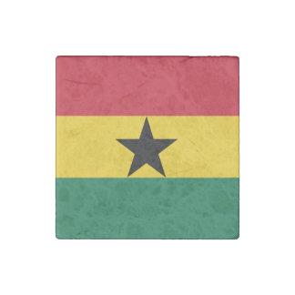 Magnet En Pierre Drapeau du Ghana