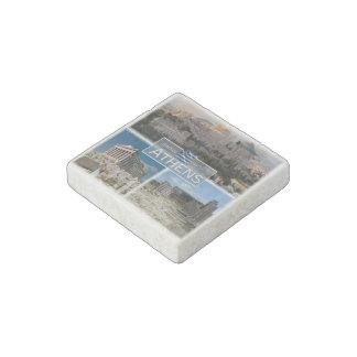 Magnet En Pierre Le GR Grèce - Athènes - Acropole - Ruines -