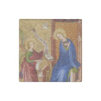 Magnet En Pierre Mary et ange d'annonce