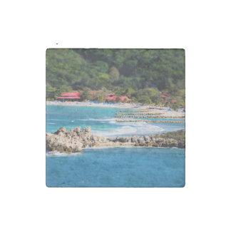 Magnet En Pierre Paradis tranquille Labadee Haïti d'île