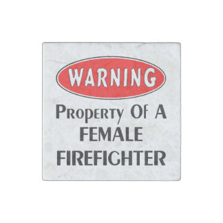 Magnet En Pierre Propriété femelle de sapeur-pompier
