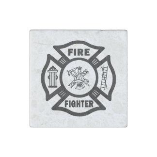 Magnet En Pierre Sapeur-pompier