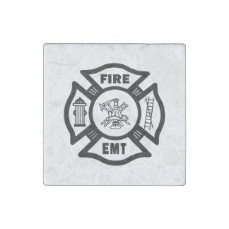 Magnet En Pierre Sapeur-pompier EMT