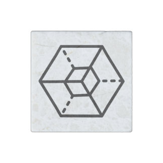 Magnet En Pierre Sergent (+)/magnet en pierre de marbre, individuel