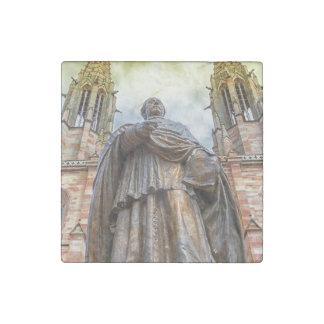 Magnet En Pierre Statue de Charles-Emile Freppel, Obernai, France