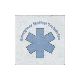Magnet En Pierre Technicien médical de secours d'EMT