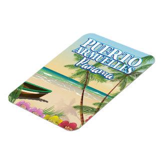 Magnet Flexible Affiche de voyage de plage de Puerto Armuelles