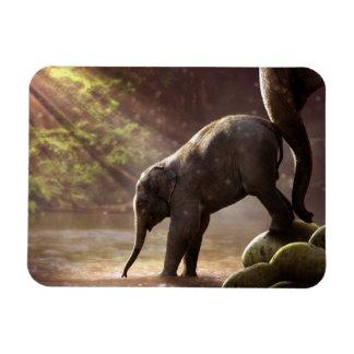 Magnet Flexible Aimant de Bath de l'éléphant de bébé premier