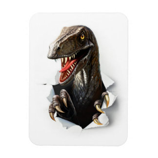 Magnet Flexible Aimant de Flexi de dinosaure de Velociraptor