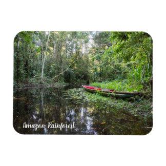 Magnet Flexible Aimant de forêt tropicale d'Amazone