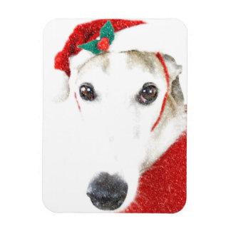 Magnet Flexible Aimant de Noël de lévrier   - pour la charité