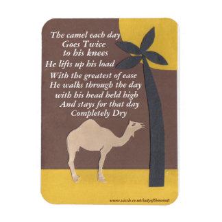 Magnet Flexible Aimant de poème de chameau