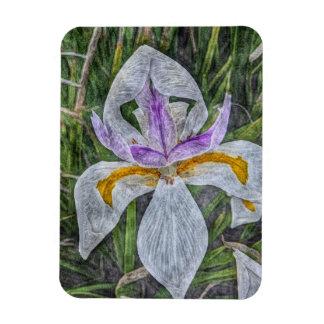 Magnet Flexible Aimant flexible d'iris sauvage