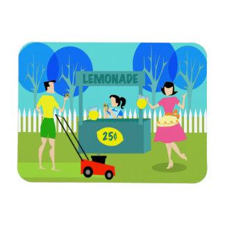 Magnet Flexible Aimant flexible du rétro stand de limonade des