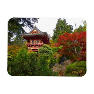 Magnet Flexible Aimant japonais de la porte #3 de temple de jardin