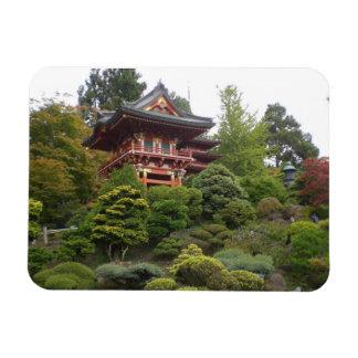 Magnet Flexible Aimant japonais de photo de jardin de thé de San