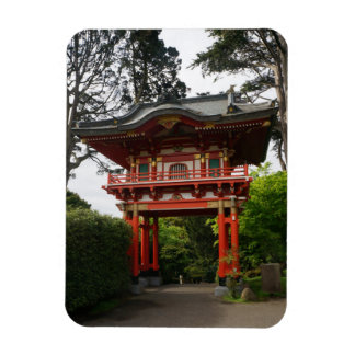 Magnet Flexible Aimant japonais de photo de la porte #2 de temple