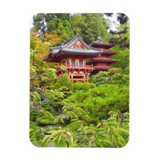 Magnet Flexible Aimant japonais du jardin de thé de San Francisco